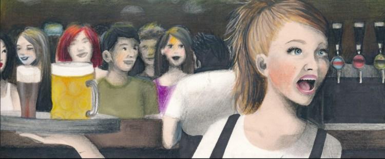 Freccia di Emilio Alessandro Manzotti - Illustrazione di Alessandra Santelli - dettaglio1