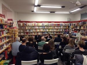 Emilio Alessandro Manzotti_Presentazione Romanzo Freccia Libreria Ubik Irnerio 4