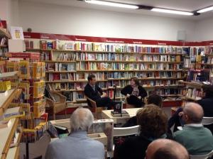 Emilio Alessandro Manzotti_Presentazione Romanzo Freccia Libreria Ubik Irnerio 5
