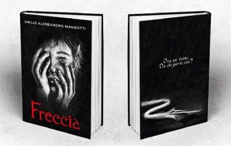 18-03-2015_Emilio Alessandro Manzotti_romanzo Freccia_recensione quarta di copertina